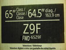 "Sony FWD-65Z9F BRAVIA 65"" 4K UHD HDR LED TV 4096x2160 Prof. Display FWD65Z9F"
