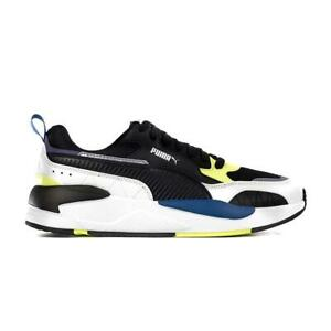 Men's Puma X-Ray 2 Square White/Black/Yellow/Blue (373108 01)