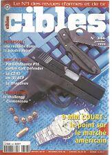 CIBLES N°346 PARA-ORDNANCE P10 CONTRE COLT DEFENDER / CZ 97 EN 45 ACP / DRAGUNOV
