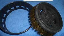 PRESSURE WASHER CAR VALETING NATURAL HAIR BRUSH HEAD DETAILINGWORLD ROTATING