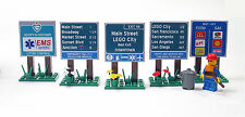 Lego Custom Highway Signs City Town