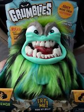 Grumblies Tremor Green Plush Toy - Brand New