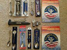 Lot of 15 Collectors Spoons, Souvenir Spoons, Collectible spoons, etc.