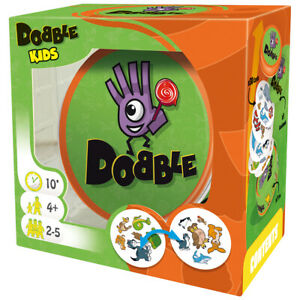 Dobble Kids Card Game   Fun Family Card Game by Asmodee