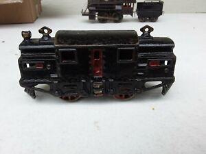 RARE Vintage O Gauge Original Cast Iron 1917 IVES #3200 Electric Locomotive