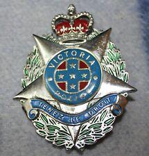 Victoria Police Plaque Badge TLD - Circa 1970s