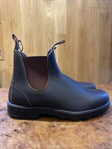 BNWB Blundstone #500 Brown Chelsea Leather Boot