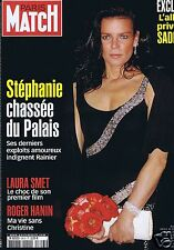 Couverture magazine,Coverage Paris-Match 17/04/03 Stéphanie de Monaco