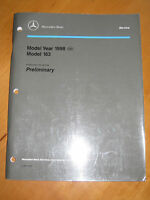 Mercedes Service W 163- Workshop Manual  ML 320 - W 163.154 - 1998