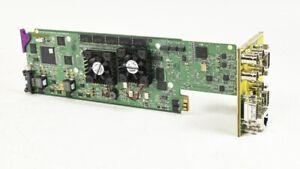 Miranda XVP-1801 HD/SD Up/Down/Cross Converter - OPT-AUD16 OPT-K for Densite 2