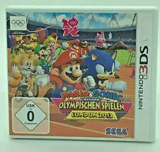 Mario & Sonic bei den Olympischen Spielen London 2012 Nintendo 3DS OVP ohne Anlt