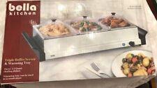 Triple Buffet Server and Warming Tray - Sensio Bella Kitchen
