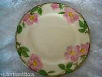"""FRANCISCAN Desert Rose Hand Painted 10 3/4"""" Plate - Made in California U.S.A."""