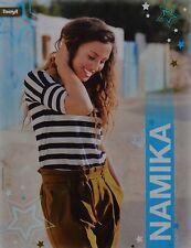 NAMIKA - A4 Poster (ca. 21 x 28 cm) - Clippings Fan Sammlung NEU