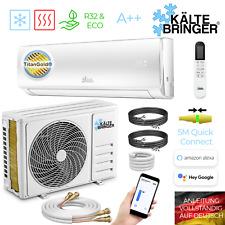 Kältebringer Split Klimaanlage Quick Connect Inverter 12000BTU Klima  3,4kW WLAN