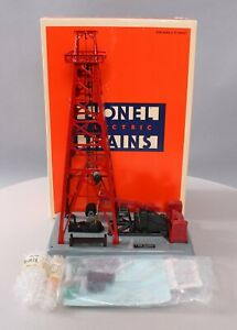 Lionel 6-12848 Red Operating Oil Derrick LN/Box