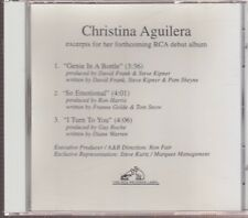christina Aguilera 3 tracks from her forthcoming debut album cd limited edition