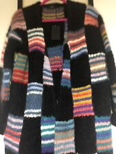🎁New JOSEPH Women's Chunky Knit Long Cardigan Sweater Jumper / M Medium