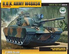 Academy 1/48 R.O.K Army M48A5K Motorized Tank Plastic Model Kit Military 13302