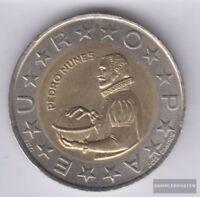 Portugal KM-Nr. : 645 1999 Stgl./unzirkuliert Bimetall 1999 100 Escudos Pedro Nu