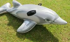 INTEX ° Wassertier Delphin 175x66 cm Schwimmtier Reittier Kinder Badespass Baden