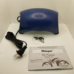 Tetra Whisper Air Pump 60, 40-60-Gallon 77854,**MINOR STAIN**