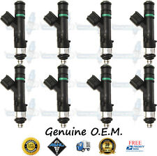 Genuine Bosch Upgrade Ford 8x Fuel Injectors 0280158174 54 Expedition Navigator