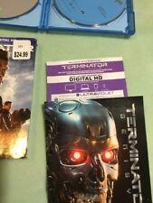 Terminator Genisys (Blu-ray/DVD, 2015, Digital Copy) W/Slip & 22 Page Comic RARE