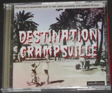DESTINATION CRAMPSVILLE 45s from the basement of lux & ivy UK 2-CD the cramps
