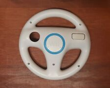 Nintendo Wii White Racing Steering Wheel for Mario Kart (RVL-024) Official OEM