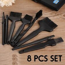 8PCS set ESD SMD Anti-static Cleaning Brush for Electronic Repair PCB Soldering