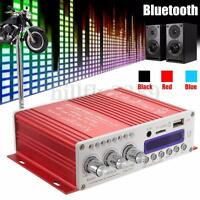 Digital Mini Bluetooth HiFi Stereo Amplifier Audio AMP For Car Home MP3 Player