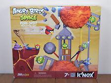 Angry Birds Space K'nex Pork Orbit Knex Building Set Green Pig 72550 *BRAND NEW*