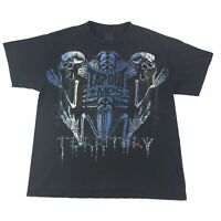 WWE Tapout MPS Ted Ditory Mens Black Graphic T-Shirt Size L Large #1024