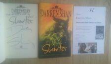 DARREN SHAN SIGNED STRAP LINED SLAWTER 1/1 UK HB/DJ 2006 BRAND NEW UNREAD COPY