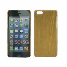 ULTRA THIN TPU WOODEN OAK EFFECT MATTE HARD CASE FOR NEW iPhone 5 5G COVER