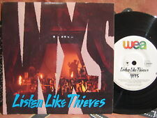 INXS Listen Like Thieves / Different World 1986 Oz Picture Sleeve 45rpm Single
