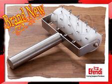 Dough Roller /  Docker Stainless Steel Heavy Duty 130 mm Wide