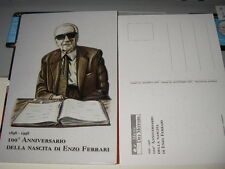 postcard _Enzo Ferrari _10x15_