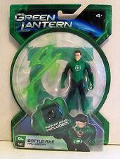 Mattel Green Lantern Battle Axe Hal Jordan Action Figure - Power Ring Included