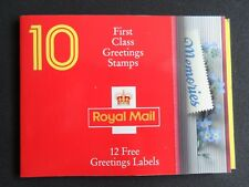 GREAT BRITAIN 1992 MEMORIES greeting stamps booklet KX4 VF MNH