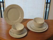 PHILIPPE DESHOULIERES *NEW* PROMENADE Set 2 assiettes + 2 tasses Plates + cups