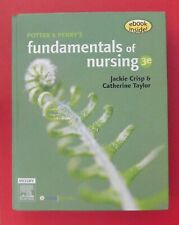 POTTER & PERRY'S FUNDAMENTALS OF NURSING Crisp & Taylor - 3rd Ed. HC w/ CD-Rom