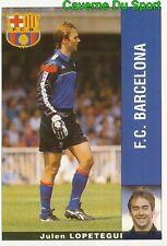 JULEN LOPETEGUI ESPANA FC.BARCELONA STICKER LIGA 95-96 PANINI