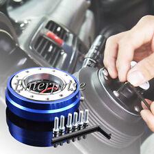 Blue Smart Quick Release Hub Snap Off Boss Kit FIT MOMO OMP Steering Wheel UK