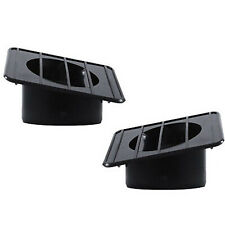 67-72 Chevy GMC Pickup Truck Defroster Defrost Duct Left & Right Side Black Set