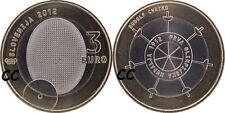 Slovenie 2012 3€ BU Olympsiche medaille 100 jaar (uit set)
