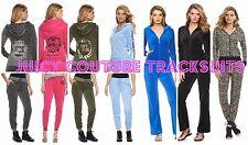 NWT Juicy Couture Tracksuit Velour Embellished Jacket Pants Sets XS S M L XL 2XL