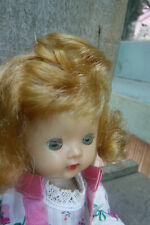 "Vtg 8"" 1954 Strawberry Blonde Nancy Ann Muffie (walker)"
