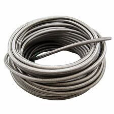 AN10 10AN AN -10 Nylon Stainless Steel Braided Fuel Oil Gas Line Hose 20 Feet